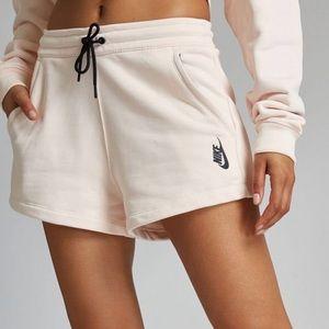 NWT NikeLab fleece shorts